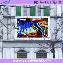 Mur visuel polychrome extérieur fixe de HD LED de SMD pour la publicité (P6, P8, P10, P16)