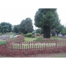 wpc garden fence