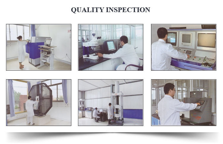 sprial steel pipe quality inspection