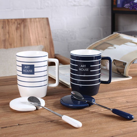 Durable Stripe Coffee Mug