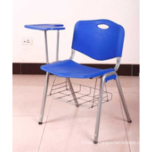 2016 Hot Selling Cheap Plastic Chair with Writing Table/Pad, Plastic Tablet Chair Cx-065