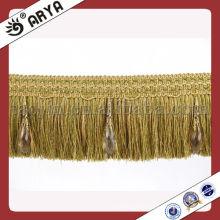 Embellissez la bordure de la brosse pour le rideau, le canapé
