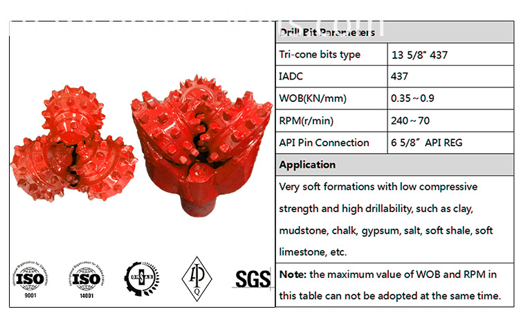 Tricone Drilling Bits