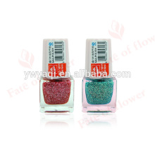 alta calidad colores botellas vacías de esmalte de uñas con esmalte por mayor en China