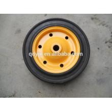 solid rubber wheelbarrow wheel