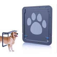 Wrcibo chien moustiquaire porte porte automatique pour animaux de compagnie porte magnétique chat intérieur / extérieur