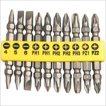 Metalworking Tools 10PCS Power Screwdriver Bits Sethardware