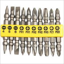 Инструменты для металлообработки 10шт Мощность Отверточные биты Sethardware
