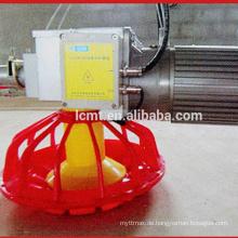 Hähnchen-Bodenaufzuchtgeräte mit automatischer Futter- und Tränklinie