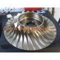 High Performance Hx35 Turbo Billet Compressor Roda 3599649/4035699 Fit 1998-2002 RAM 2500 3500 CNC Usinado 53.91X78