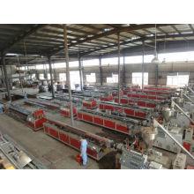CHINA COMPANY OF PVC PROFILE MACHINE PVC WOOD producción de perfiles Line Machine madera composit de plástico máquina