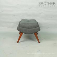 Wohnzimmer Stuhl Möbel Stoff Lounge Sessel Ottoman zu verkaufen