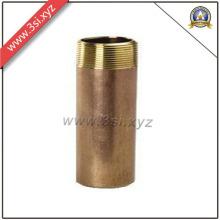 Qualité supérieure ANSI B 16.11 filetage mâle cuivre Canon mamelon (YZF-NM560)
