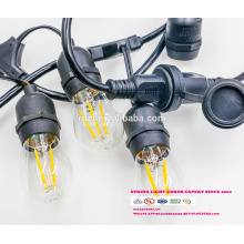 SL-31 Wholesale christmas pendant decorative string light E26 lamp socket ac power cord with inline switch