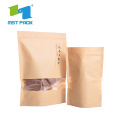 Packaging Paper Bag dengan jendela Aluminium Foil Lined
