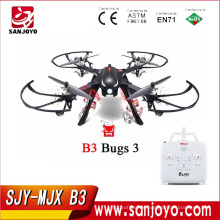 Hot sale MJX Bugs 3 Red/Black color With Brushless Motor Independent ESC Drone Long flight time Can support Wifi camera SJY-B3