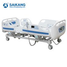 SK002 Lit électrique pliable de l'hôpital Icu de cinq fonctions