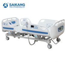 SK002 Five Function Electric Hospital Icu Folding Bed