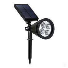 Aluminum casting energy saving solar energy spotlights