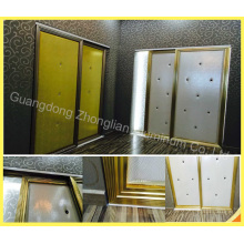 Customized Aluminium Wardrobe Door Frame for Wardrobe Making