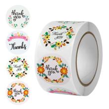 NX043 Custom packaging self-adhesive label printing  label bottle sticker paper