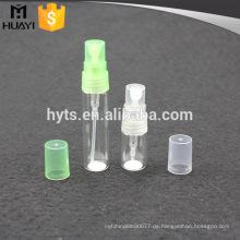 leere kleine Glasparfümsprayflaschen für Parfümprobenphiolen