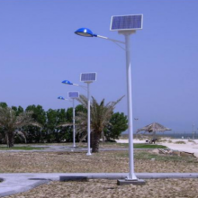 10 Years for Solar Powered Street Lights 90W Solar street light supply to American Samoa Factories