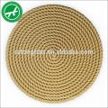 6mm, corde de jute de chanvre de 8mm à vendre chanvre jute rupe pour la décoration