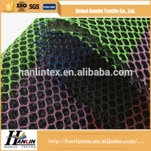 China Supplier High Quality polyester 100 polyester mesh garment fabric
