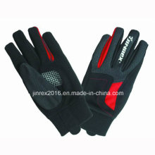 Winddichter Winter Outdoor Reflektierende Mode Full Futter Sport Handschuh
