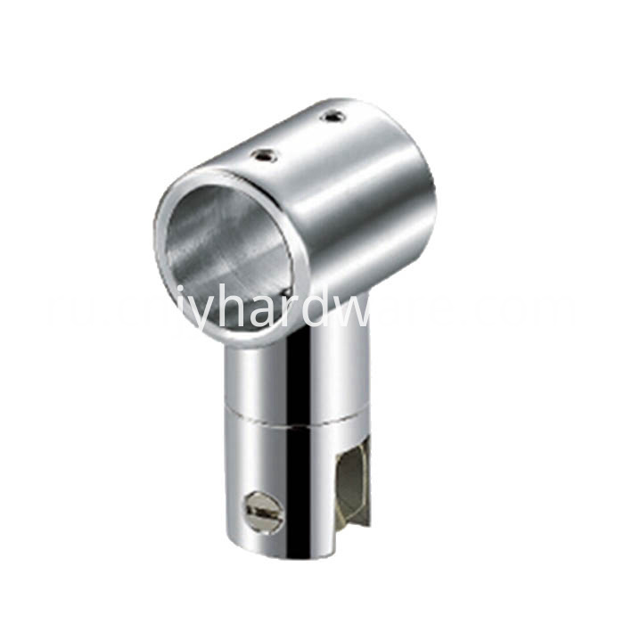 Tube connector glass clip