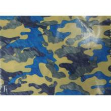 Tissu de polyester de camouflage de 420d avec le revêtement d'unité centrale