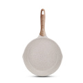 Aluminum Die-casting Fry Pan With Wooden Handle