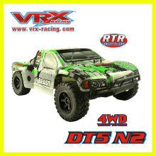 1/10th escala 4WD brushless minicurso RC caminhão em brinquedos de controle de rádio