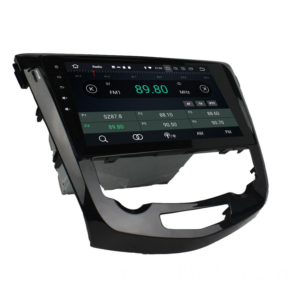 Android car dvd for Nissan Qashqai 2013