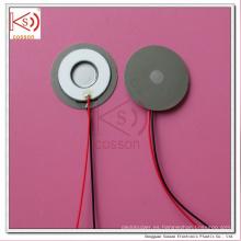 Permeabilidad Hoja Micro Humidificador con atomizador de atomización de poros de 13,8 mm Ultrasonido
