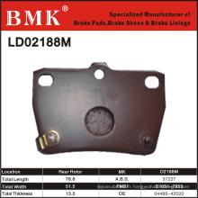 Plaquette de frein de qualité supérieure (D2188M)