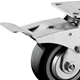 Full Steel Brake for Heavy Duty Casters