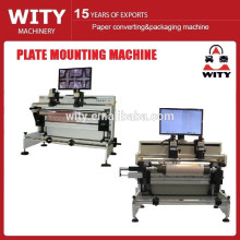 2015 fácil operación flexo placa de montaje de la máquina