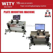 2015 простая установка флексографическая машина для монтажа пластин