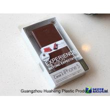 PVC plástico transparente para iPhone 6 caixa de embalagem caso mais (HH015)
