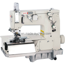 Double Needle Flat-Bed Belt Loop with Front Fabric Cutter