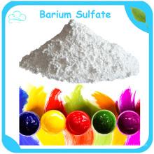 98% Baso4 sulfate de baryum de poudre blanche de prix utilisé dans l'encre d'impression de peintures