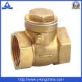 Válvula de verificação de bronze forjado (YD-3009)