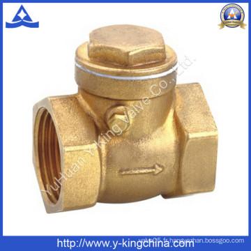 Vanne de retenue forgée en laiton (YD-3009)