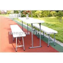Atacado Cheap 6ft 72inch Modern Plastic Portable Folding Bench
