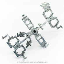 OEM casting mold makers zinc alloy die casting parts for airplanes aircraft