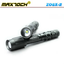 Maxtoch ZO6X-2 Cree 18650 recarregável Zoom lente lanterna