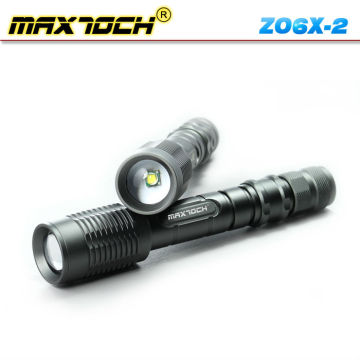 Maxtoch ZO6X-2 Cree 18650 Rechargeable Zoom Lens Flashlight