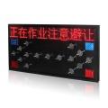 Solar Led Flashing Directional traffic arrow sign board